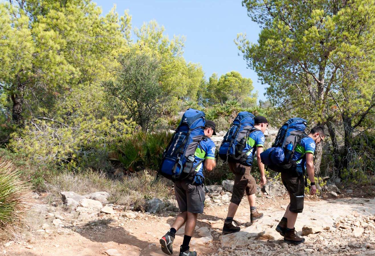 Teamgeist Wandern Mallorca Kartografie